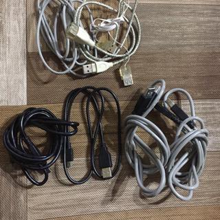 USBケーブル各種
