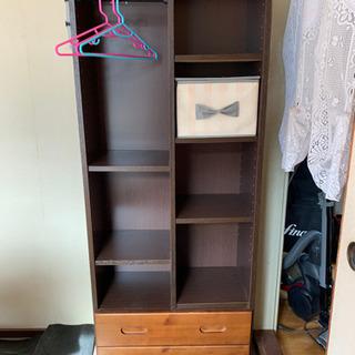 子供用収納家具差し上げます。