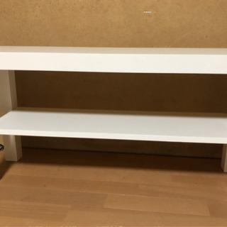 【価格改定】IKEAで購入 テレビ台、コーナーテーブル