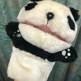 パンダの手人形