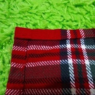 ■至急です!■ハンドメイド■赤いタータンチェック柄のカーテン2枚組■北欧・カントリー■ - 売ります・あげます