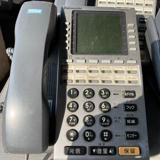 パナソニックビジネスホンVB-E411L-KS12台セット