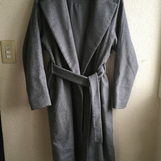gu   ウール混ロングコート