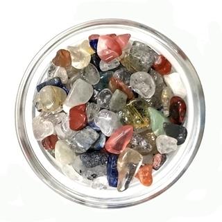 「お任せ品」天然石 さざれ石 ミックス 200g 浄化用(穴無し)