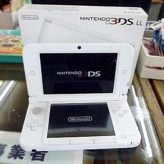 動作OK NINTENDO 3DS LL 本体 任天堂 ホワイト...