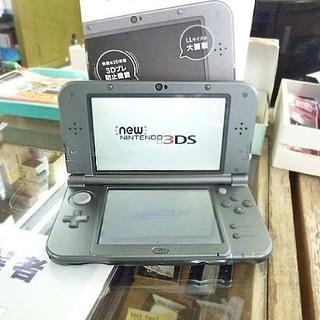 NINTENDO NEW 3DS LL 本体 メタリックブラック...