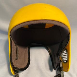 子供用 スキーヘルメット イエロー − 北海道