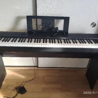 ヤマハ YAMAHA P-45B [88鍵盤]専用キーボードスタ...