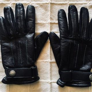 バーバリーブラックレーベル 手袋