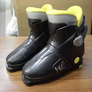 札幌 22cm ジュニアスキーブーツ 子供用 キッズ リアエント...