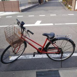 【まだ受付中‼️】自転車 5段ギアつき 27インチ
