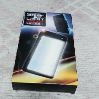 ライト付きモバイルバッテリー「新品」