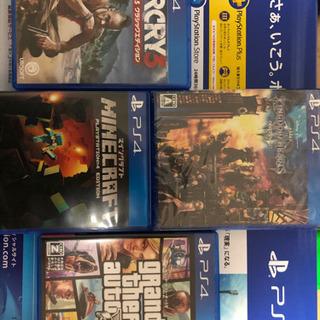 PS4の4タイトル キングダムハーツ3,マイクラ,ファークライ3...