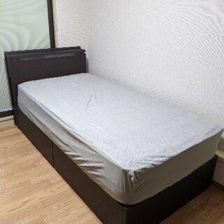 値下げ 定価86370円 収納ベッド マットレス 使用期間10ヶ月