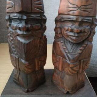 北海道旅行土産 定番 木彫の置物