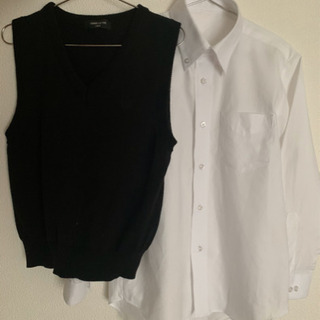 キッズYシャツ&ベストセット