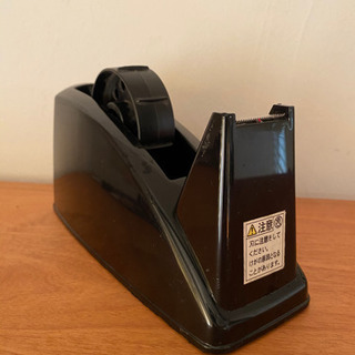 マステにも使えるセロテープカッター・黒・マスキングテープ