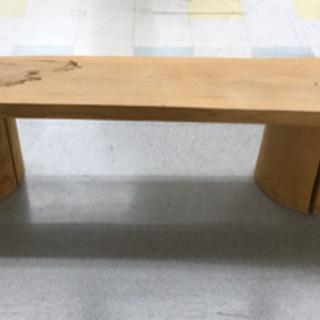 1枚板テーブル/ベンチ