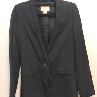 【H&M】 黒 ジャケット