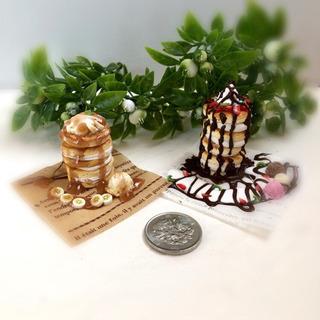 ミニチュアクレイのパンケーキタワーを作ってみませんか?