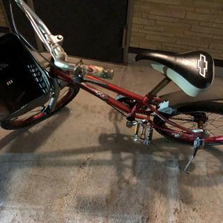 18インチの子供用の自転車です
