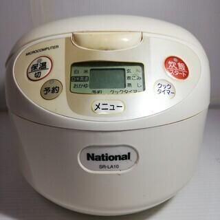 National(ナショナル)★電子ジャー炊飯器★容量1.0L★...