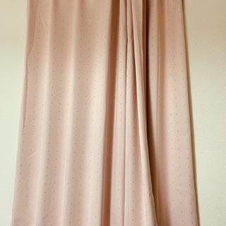 遮光カーテン 140x143cm ピンク