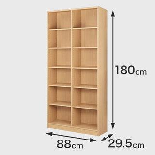 シンプル木製ラック幅900x1800