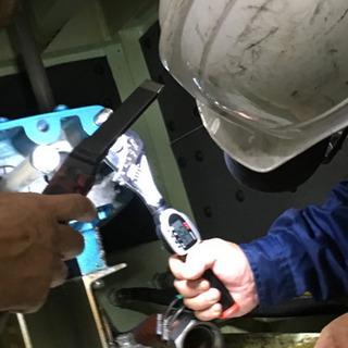 週末限定『時給1500〜3000円』工作機械の修理・保全応援募集