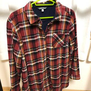 【中古】中地フリース シャツ 2枚セット Lサイズ