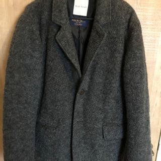 【ブリスポイント】イタリア製 メンズウールジャケット