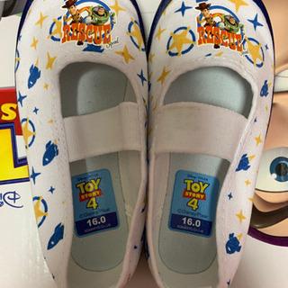 美品! 16cm☆トイストーリー上靴