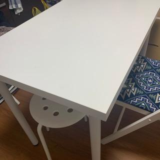 【1/25受取り希望】IKEA 白テーブル