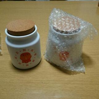 陶器キャニスター 2個セット