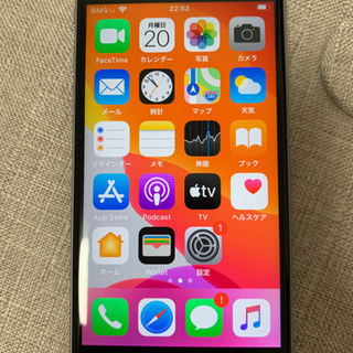 【美品】iphone6s 32GB グレー SIMフリー