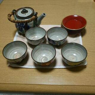 急須とお茶碗5客セット
