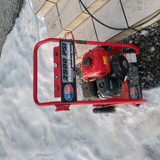 【取引中】ALLPOWER APW5120 エンジン式高圧洗浄機