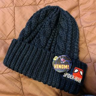 スパイダーマンニット帽