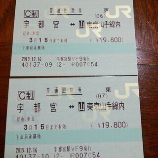 JR 宇都宮〜東京山手線内