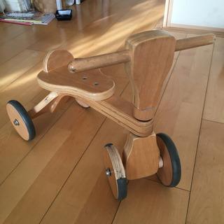 ウッディバイク 木製 三輪車