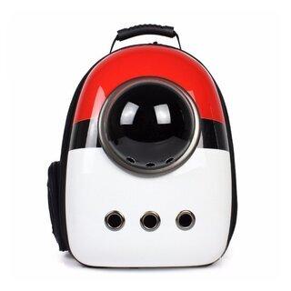 犬猫兼用 ペット用キャリーバッグ 宇宙船カプセル型リュック