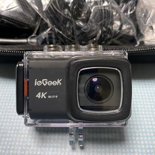 決まりました 4k WiFi機能搭載アクションムービーカメラ