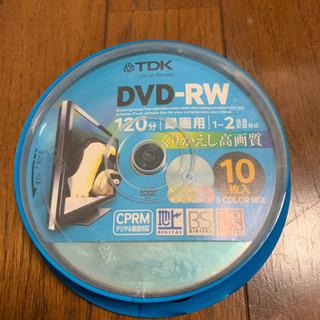 TDK DVD-RW  未使用