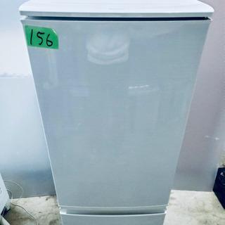 156番 SHARP✨ ノンフロン冷凍冷蔵庫❄️ SJ-1…