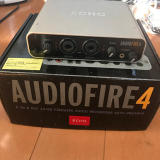 ECHO AUDIOFIRE4 オーディオインターフェース