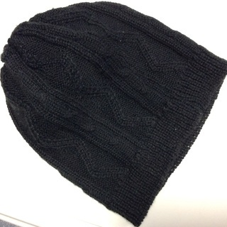 子供毛糸帽子100円