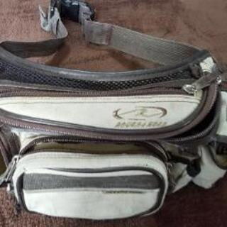 ライダー用ウエストバッグです。