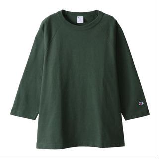 CHAMPION T1011 七分袖 T ラグランスリーブ XLサイズ
