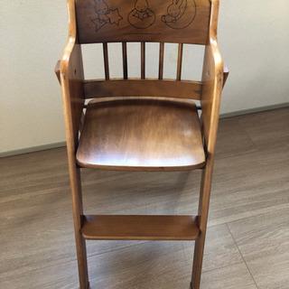 ハイチェア(ミッフィーの子供用の椅子)