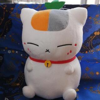 【美品】夏目友人帳 トリプルニャンコ先生 3号 ぬいぐるみ